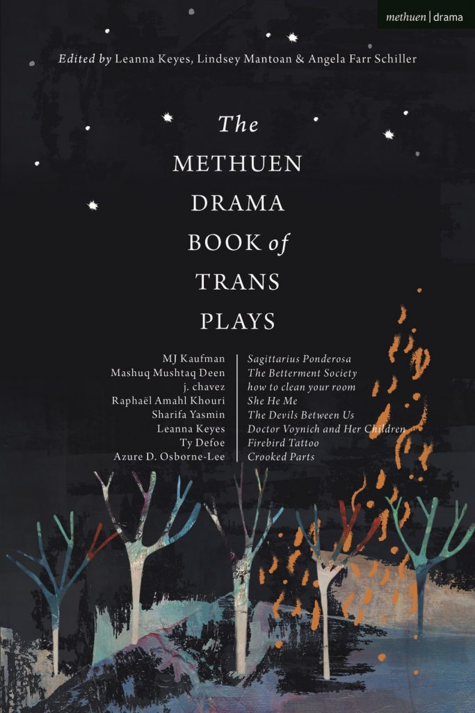 The Methuen Drama Book of Trans Plays book cover